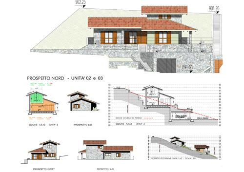 Residenza le terrazze a selvino for Prospetti ville